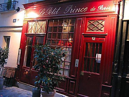 Restaurant le petit prince de paris paris coupons de - Le petit salon paris ...